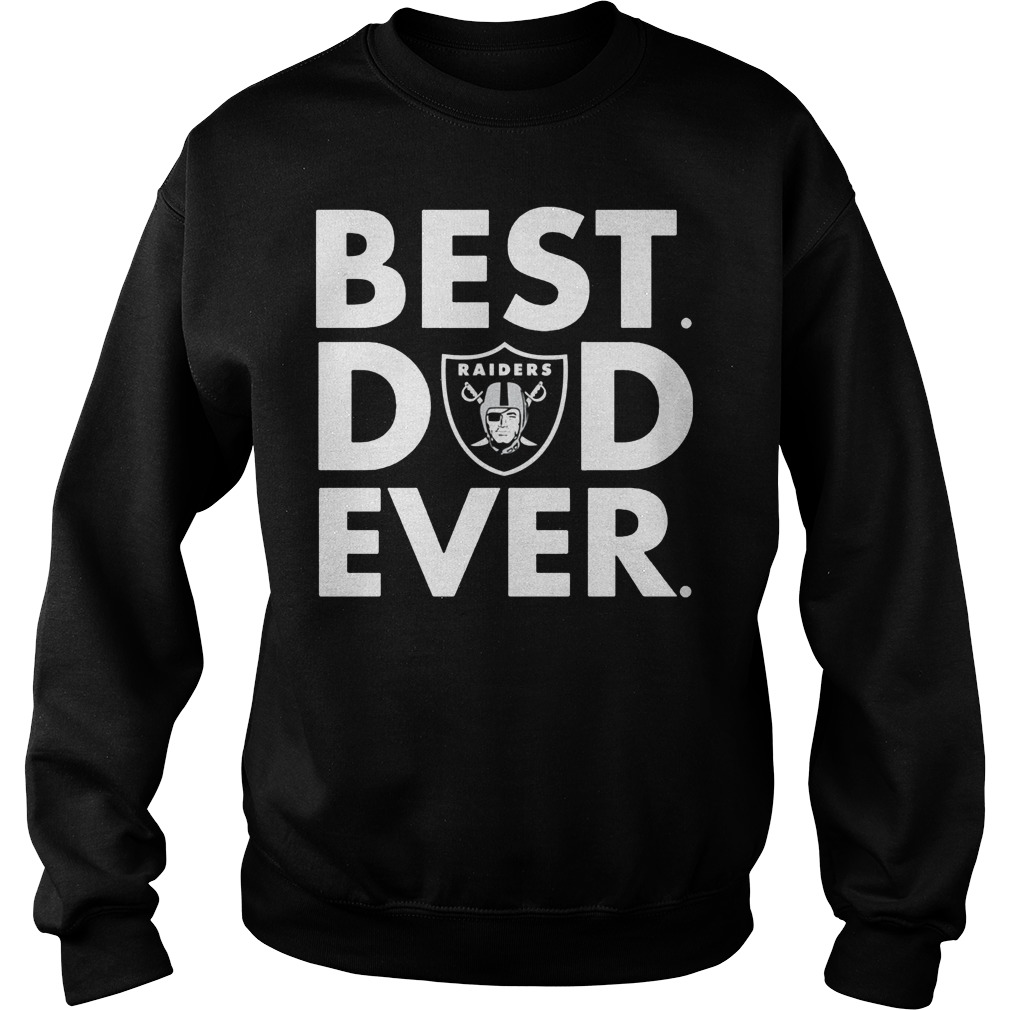 Official Oakland Raiders Best Dad Ever Sweater