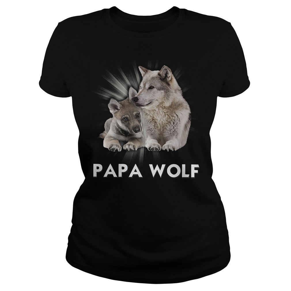 Official Papa Wolf Ladies