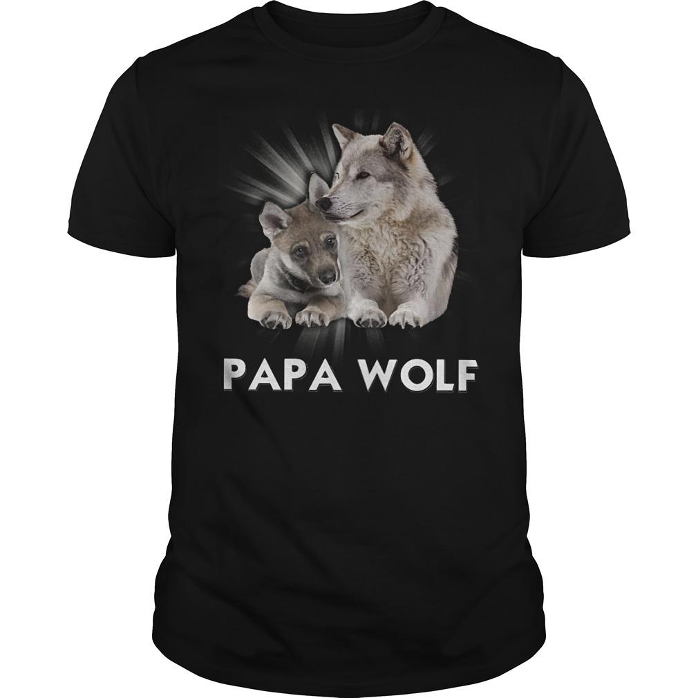 Official Papa Wolf T Shirt