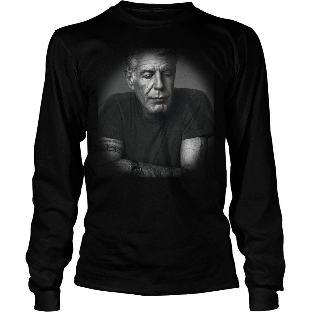 Rest In Peace Anthony Bourdain Longsleeve