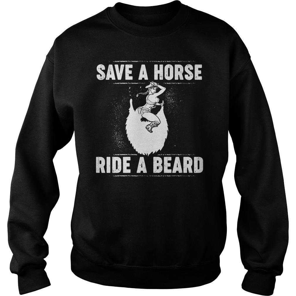 Save A Horse Ride A Beard Sweater
