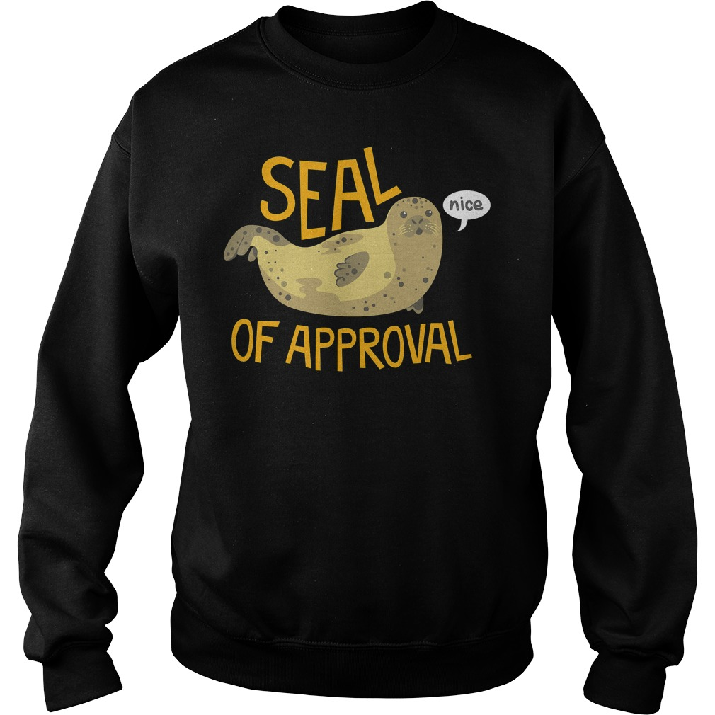 Seal Of Approval Sweater