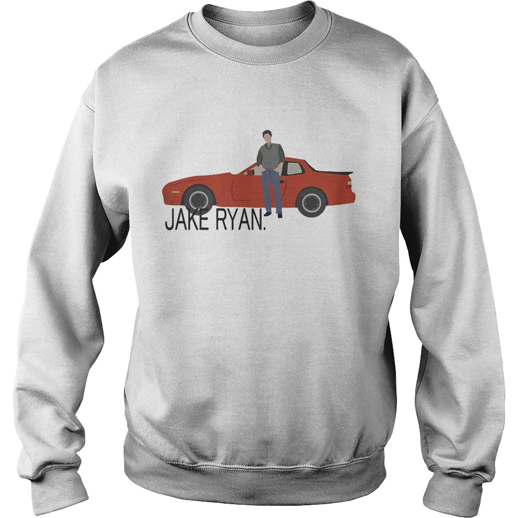 Sixteen Candles Jake Ryan Car Sweater