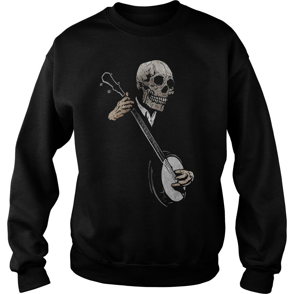 Skullboy's Banjo Blues Plays Music Sweater