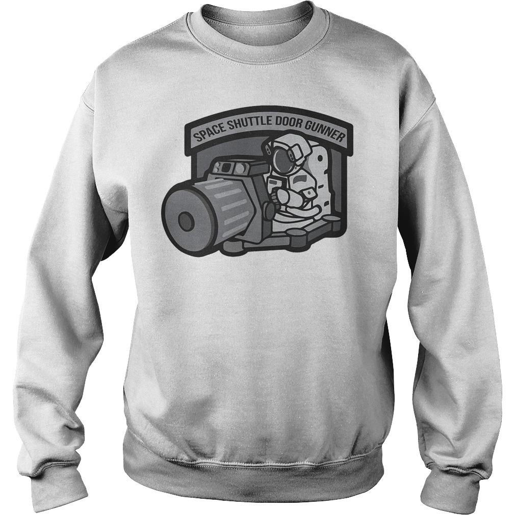 Space Shuttle Door Gunner Sweater