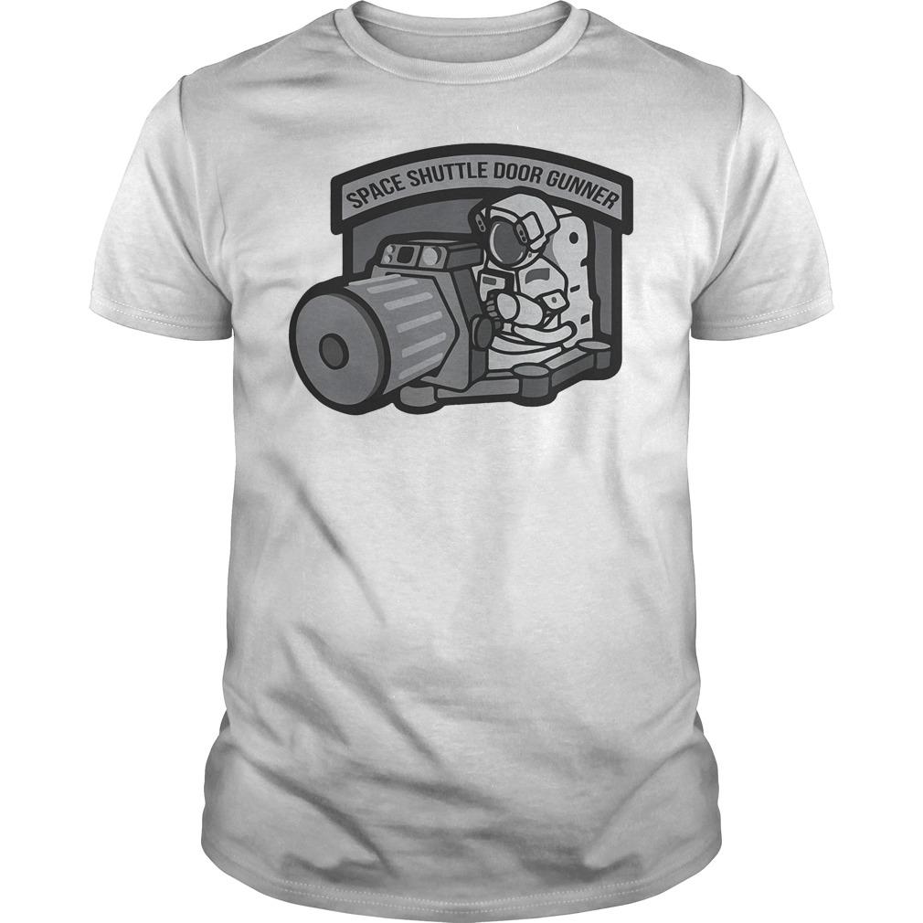 Space Shuttle Door Gunner T Shirt
