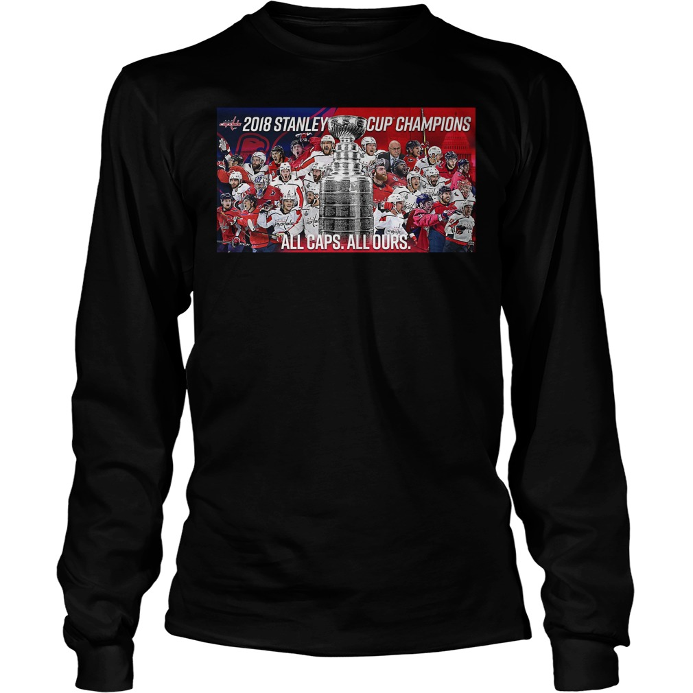 Stanley Cup Champs 2018 Longsleeve