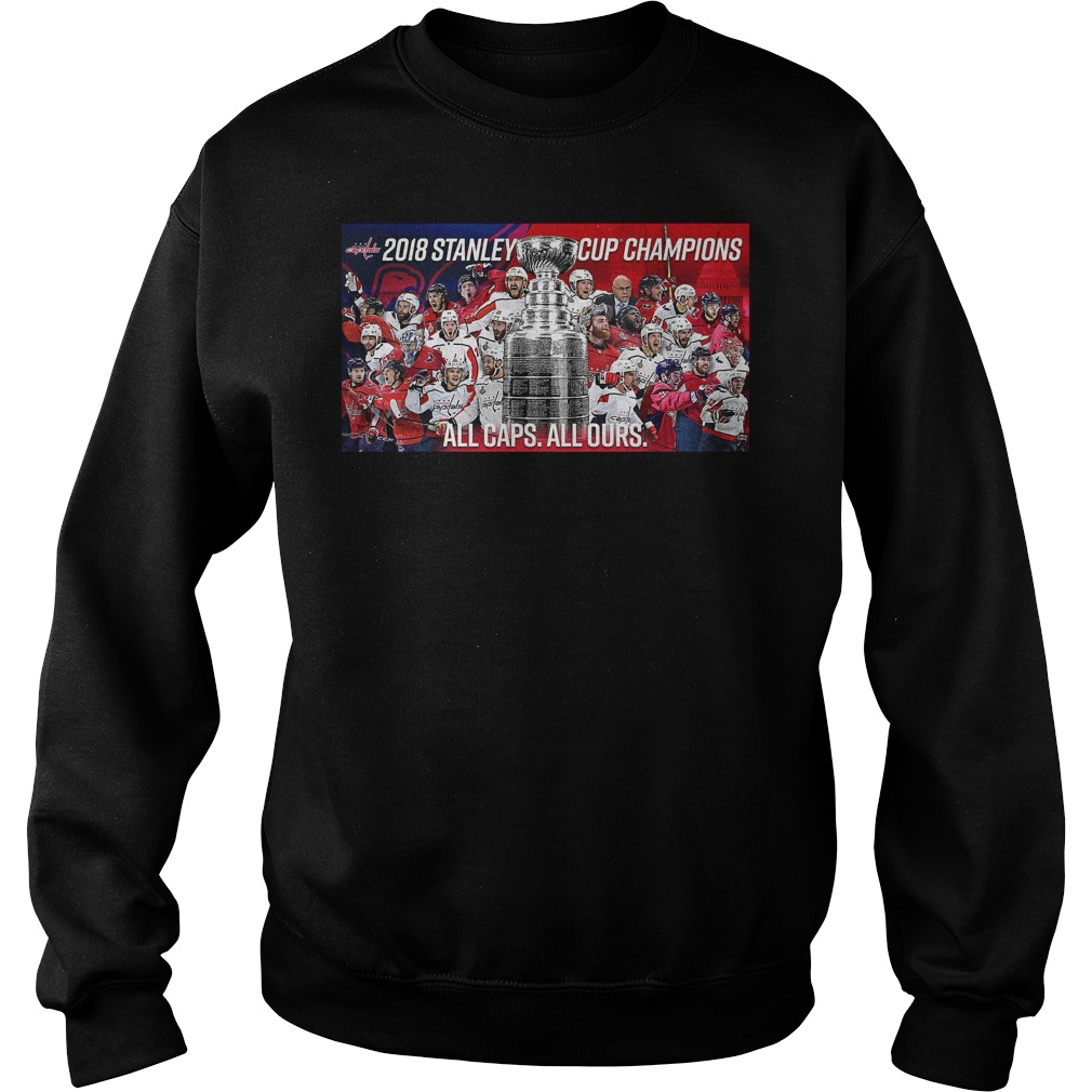 Stanley Cup Champs 2018 Sweater