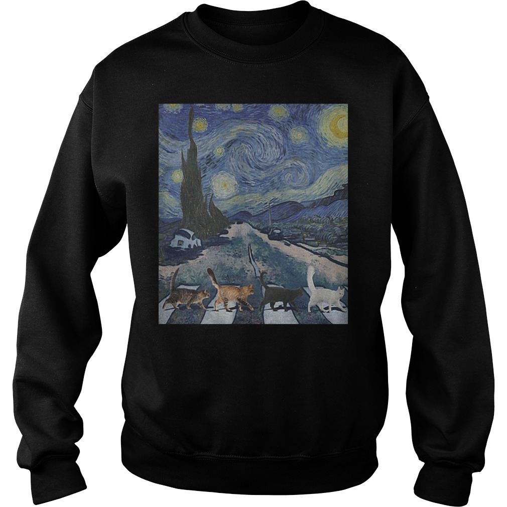 Tabby Road The Starry Night Sweater
