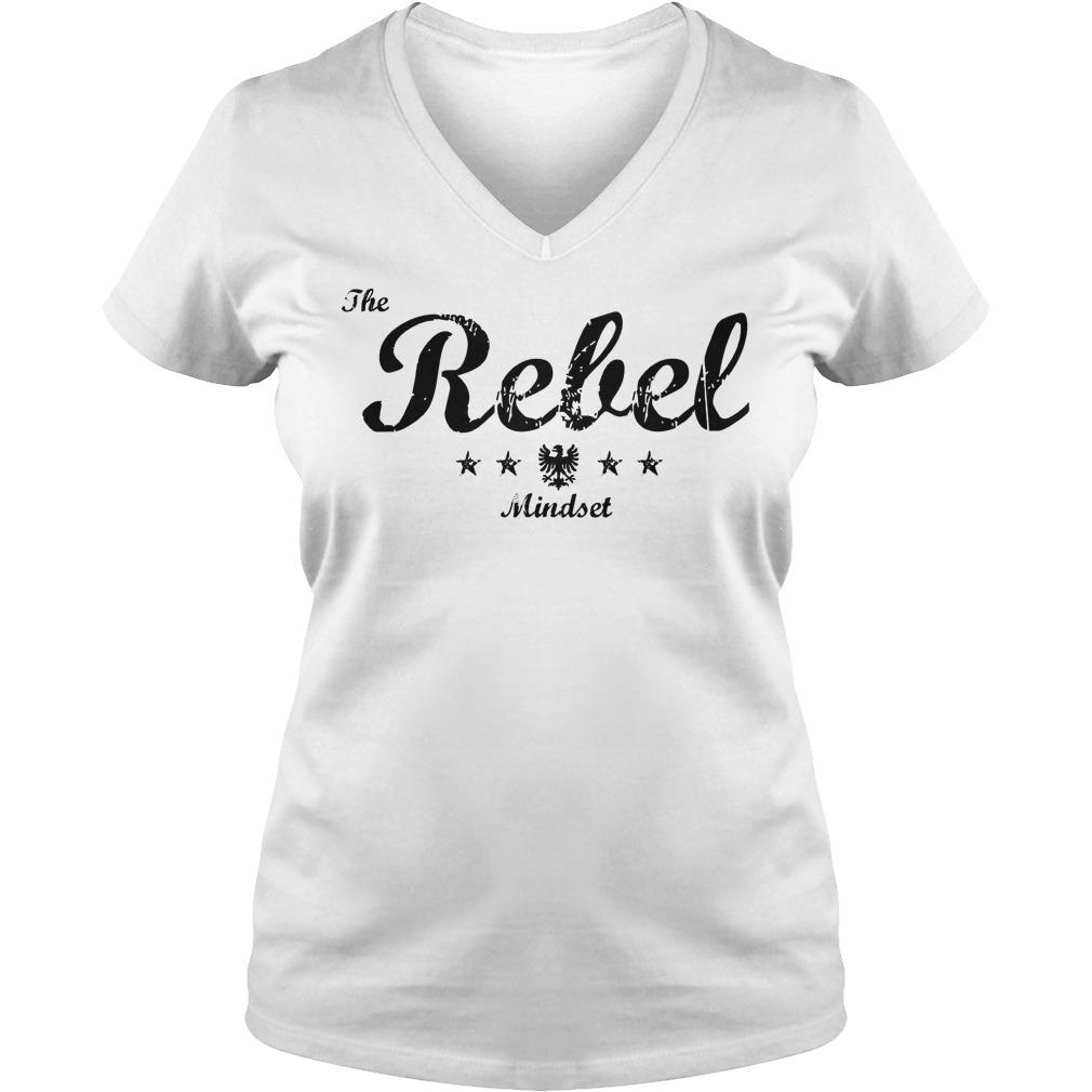 The Rebel Mindset Logo V Neck