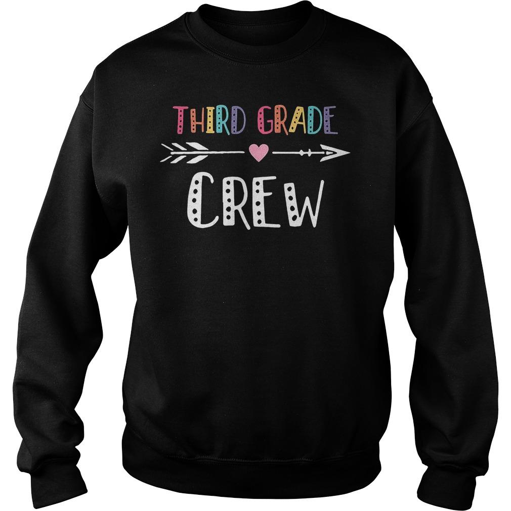 Third Grade Crew Sweater