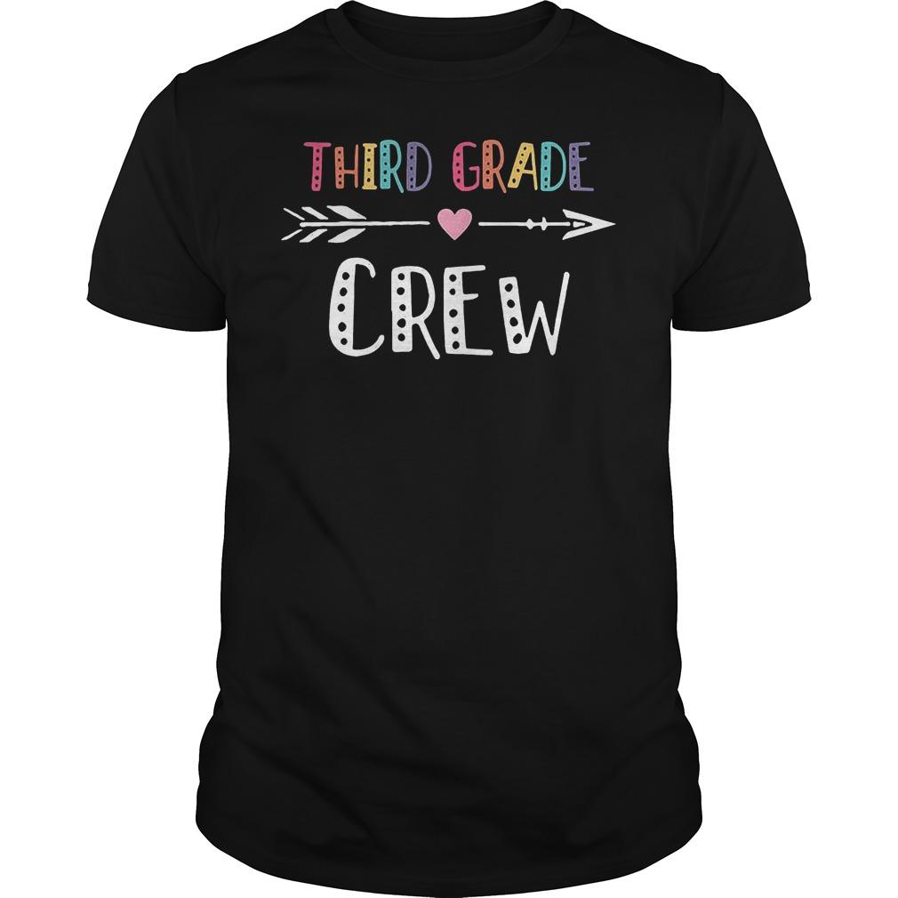 Third Grade Crew T Shirt