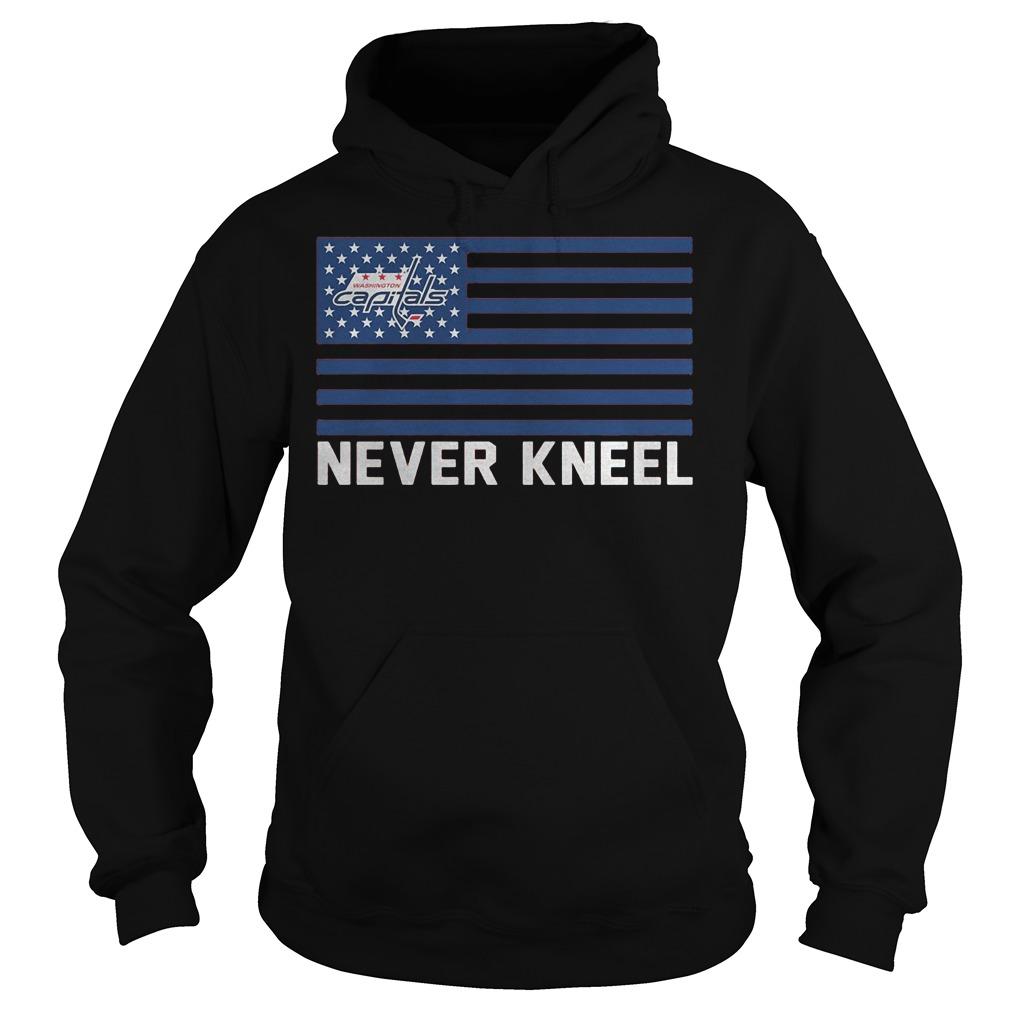 Washington Capitals Never Kneel Hoodie