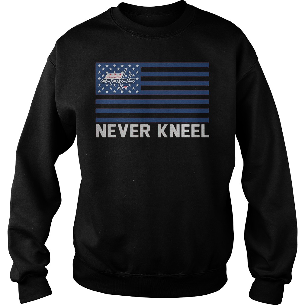 Washington Capitals Never Kneel Sweater