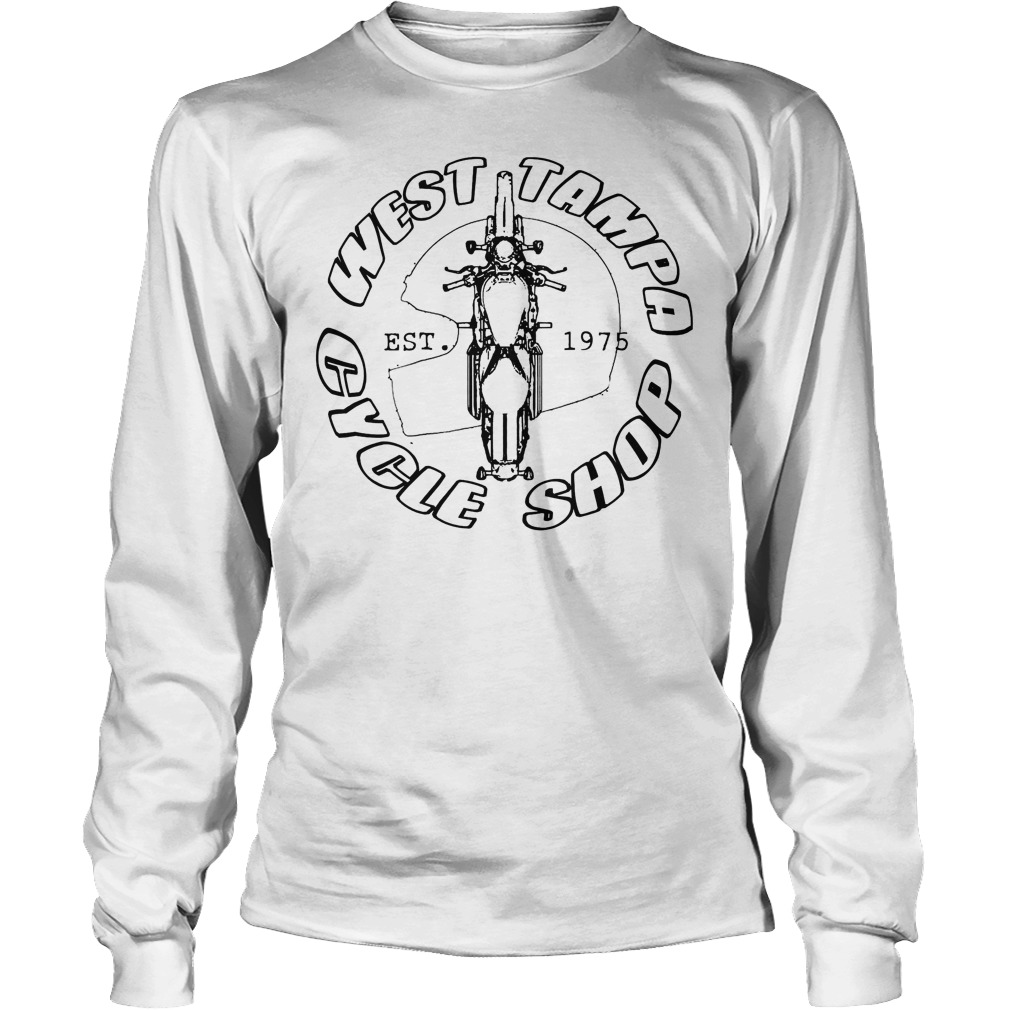 West Tampa Cycle Shop Longsleeve