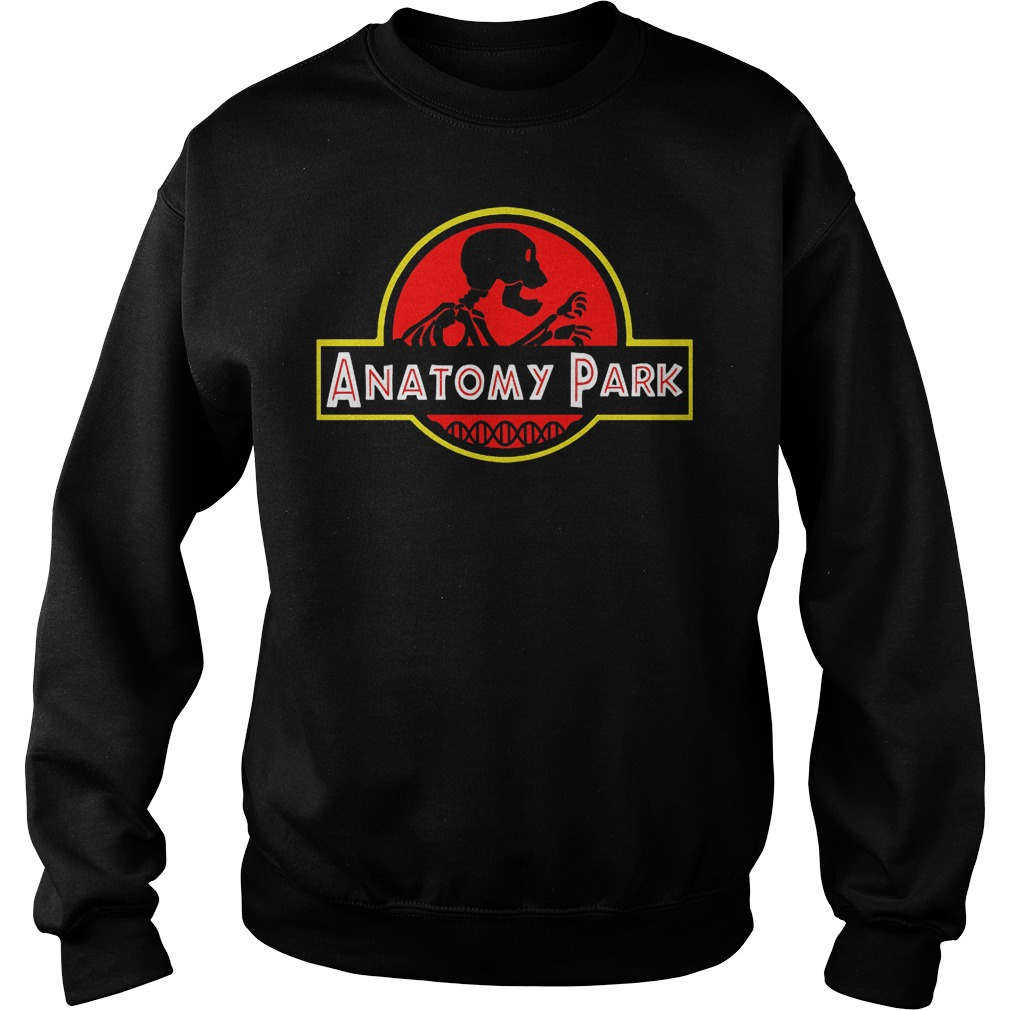 Anatomy Park Mashup Jurassic Park T-Shirt Sweat Shirt