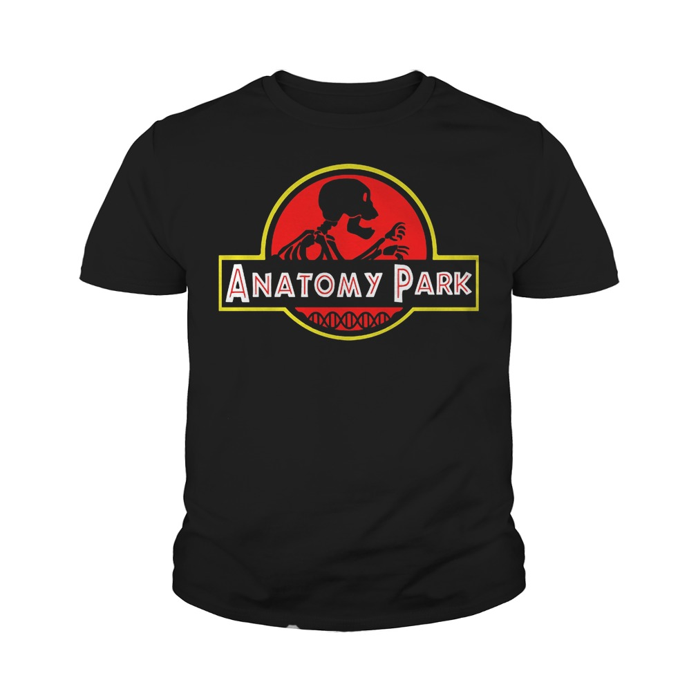 Anatomy Park Mashup Jurassic Park T-Shirt Youth Tee