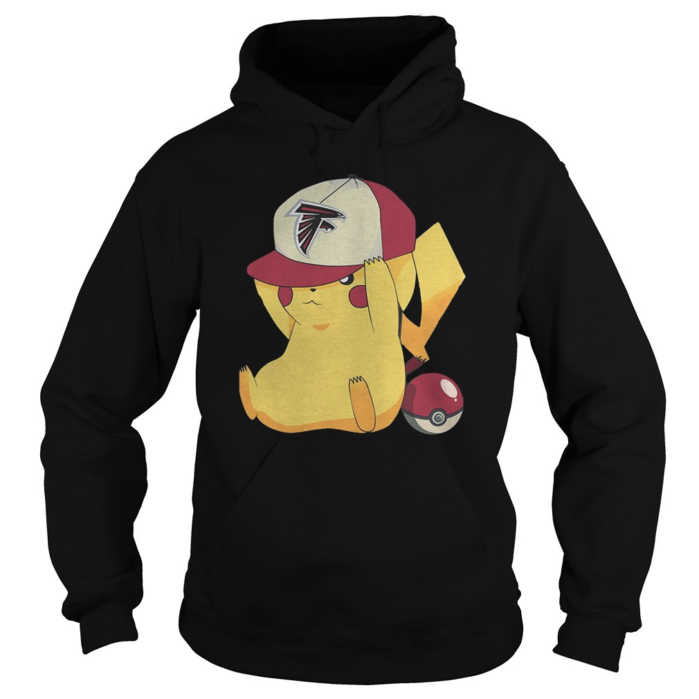 Atlanta Falcons Pikachu Pokemon T-Shirt Hoodie