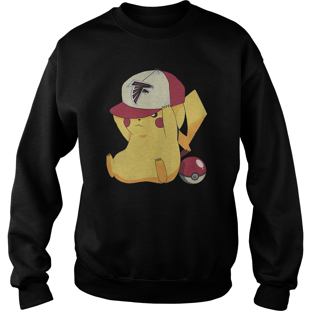 Atlanta Falcons Pikachu Pokemon T-Shirt Sweat Shirt