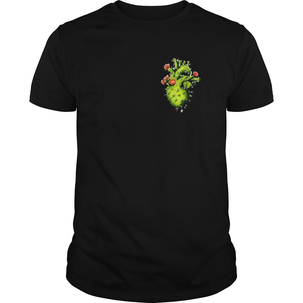 Cactus Heart T-Shirt Classic Guys / Unisex Tee