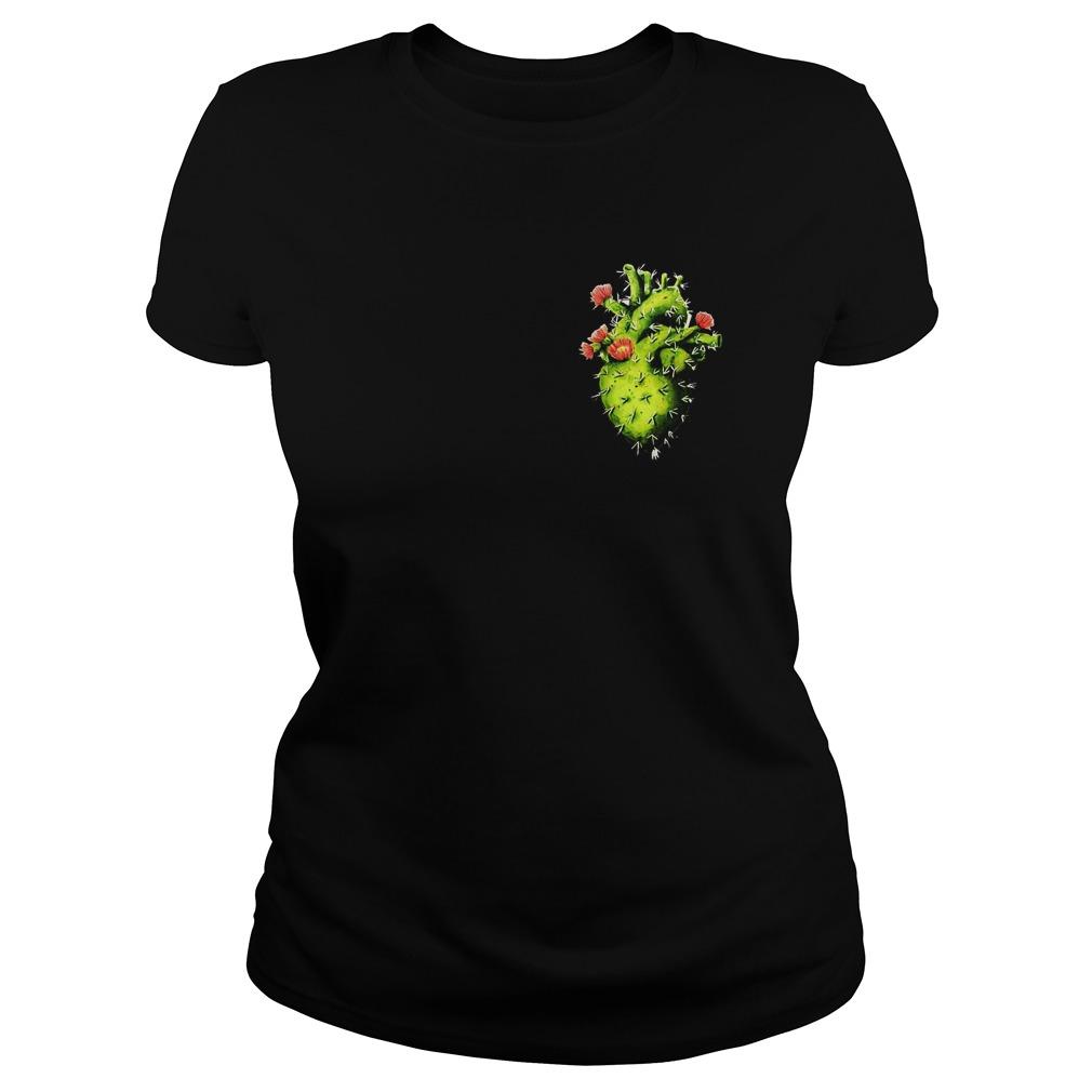 Cactus Heart T-Shirt Classic Ladies Tee
