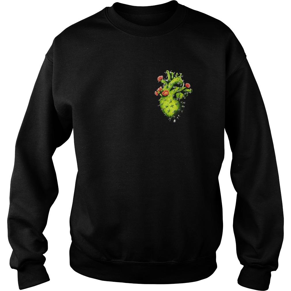 Cactus Heart T-Shirt Sweatshirt Unisex