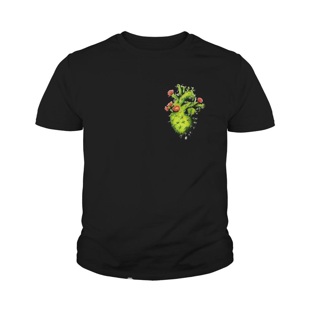 Cactus Heart T-Shirt Youth Tee