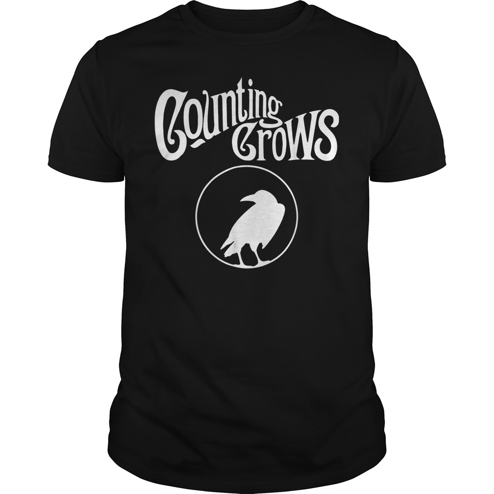 Counting Crows Tour 2018 T-Shirt Classic Guys / Unisex Tee