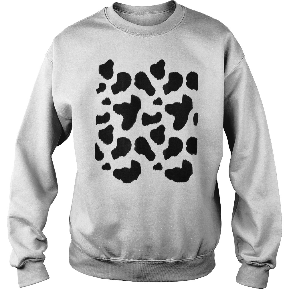 Cow Costume Sweat Shirt