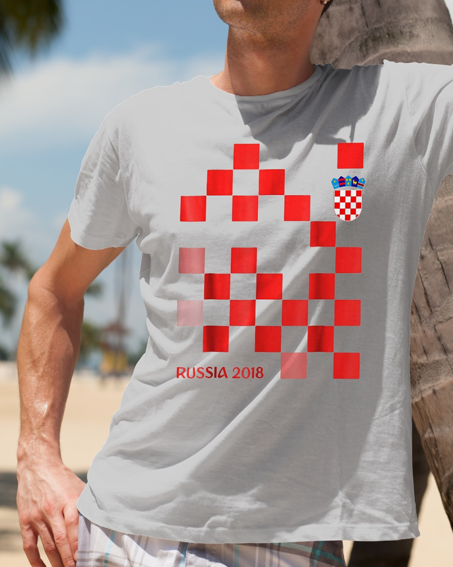 Croatia Jersey Russia Football 2018 T Shirt