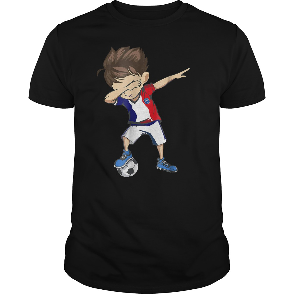 Dabbing Soccer France World Cup 2018 Guys Tee.jpg