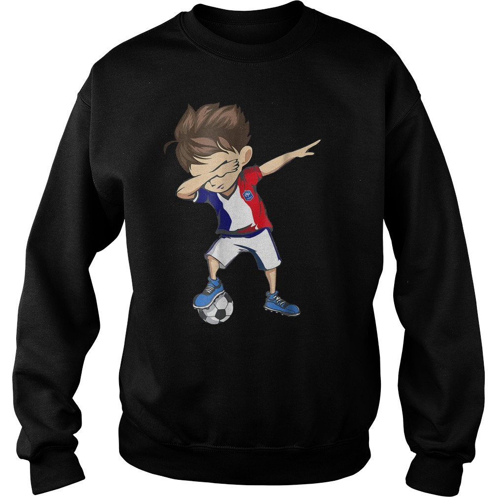 Dabbing Soccer France World Cup 2018 Sweat Shirt