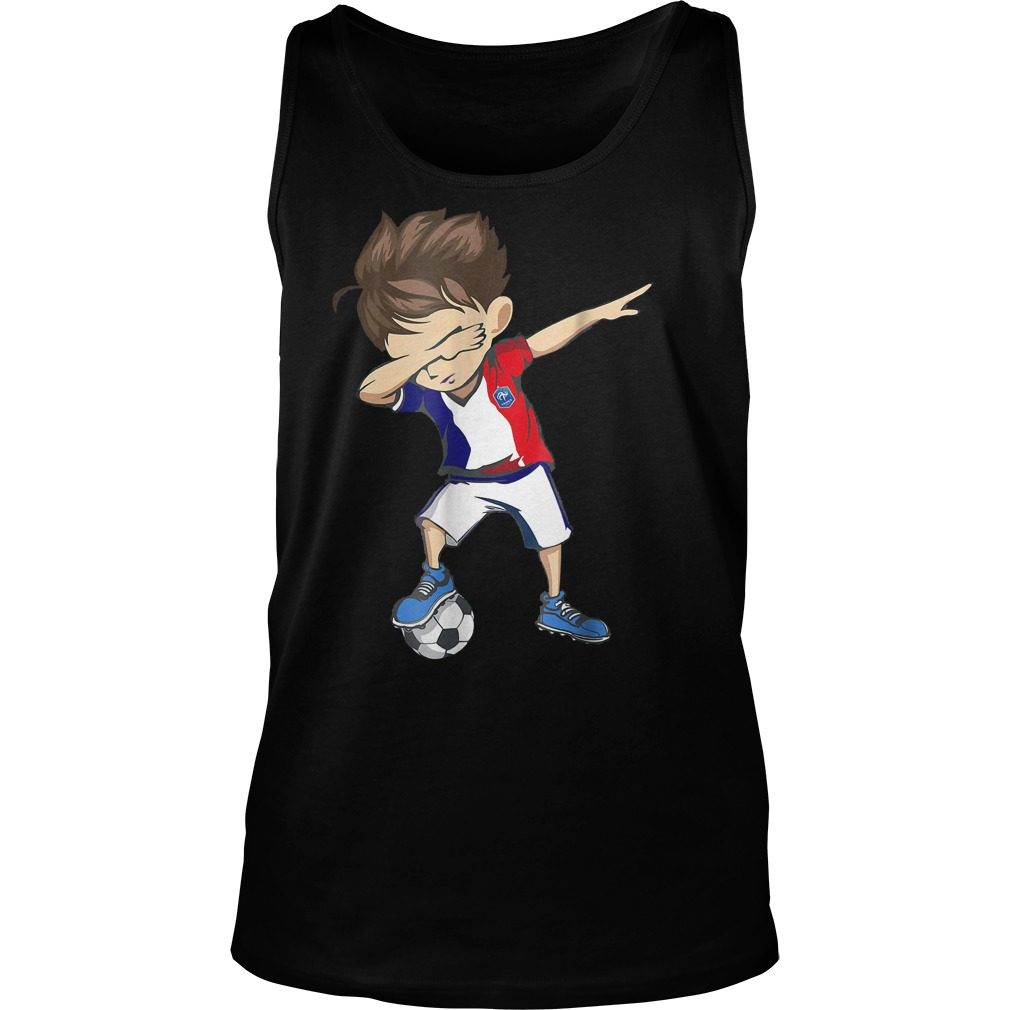 Dabbing Soccer France World Cup 2018 Unisex Tank Top