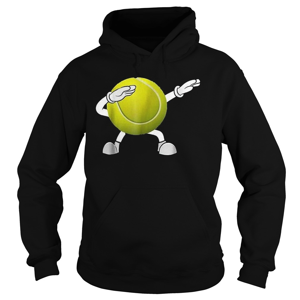 Dabbing Tennis Ball T-Shirt Hoodie