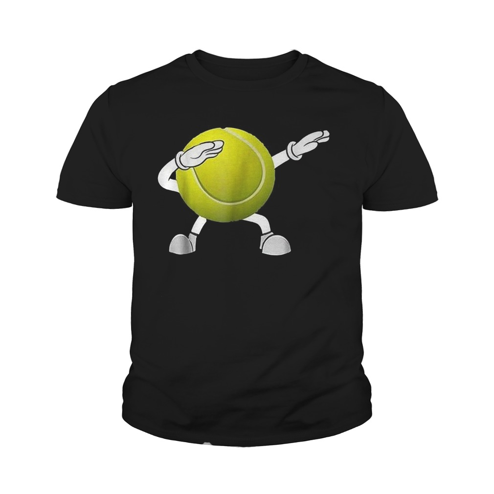 Dabbing Tennis Ball T-Shirt Youth Tee