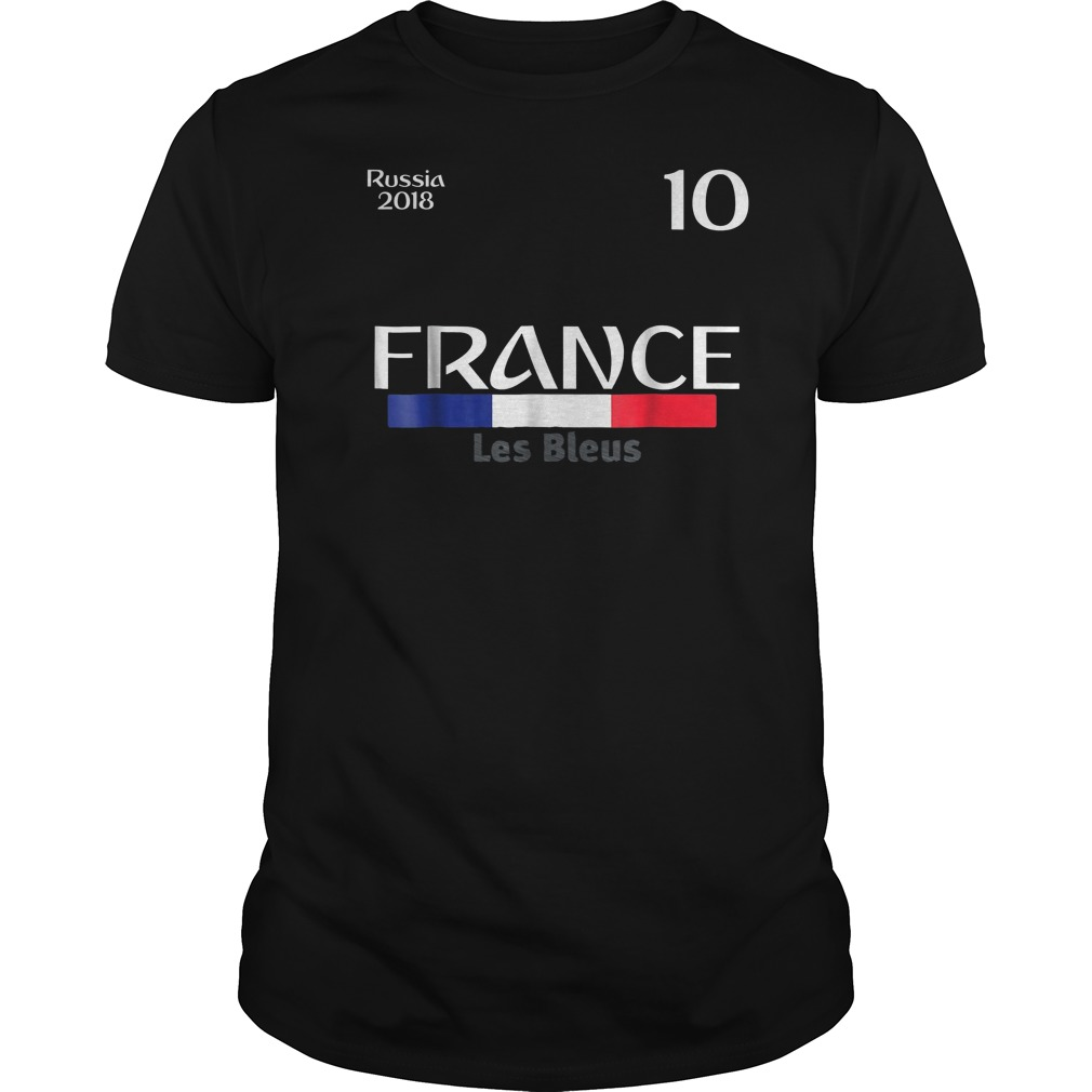 France Football Jersey World Cup 2018 Guys Tee
