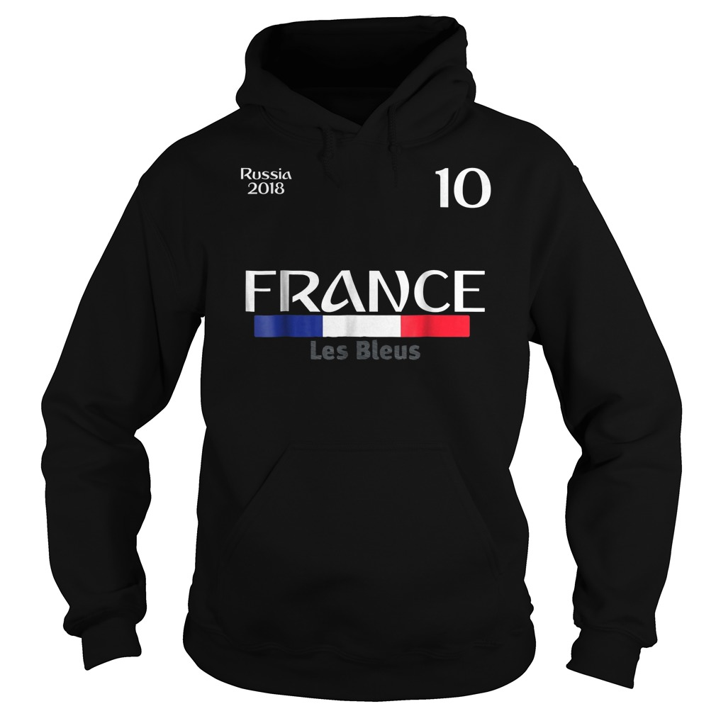 France Football Jersey World Cup 2018 Hoodie