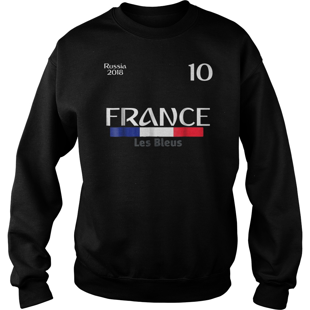 France Football Jersey World Cup 2018 Sweat Shirt