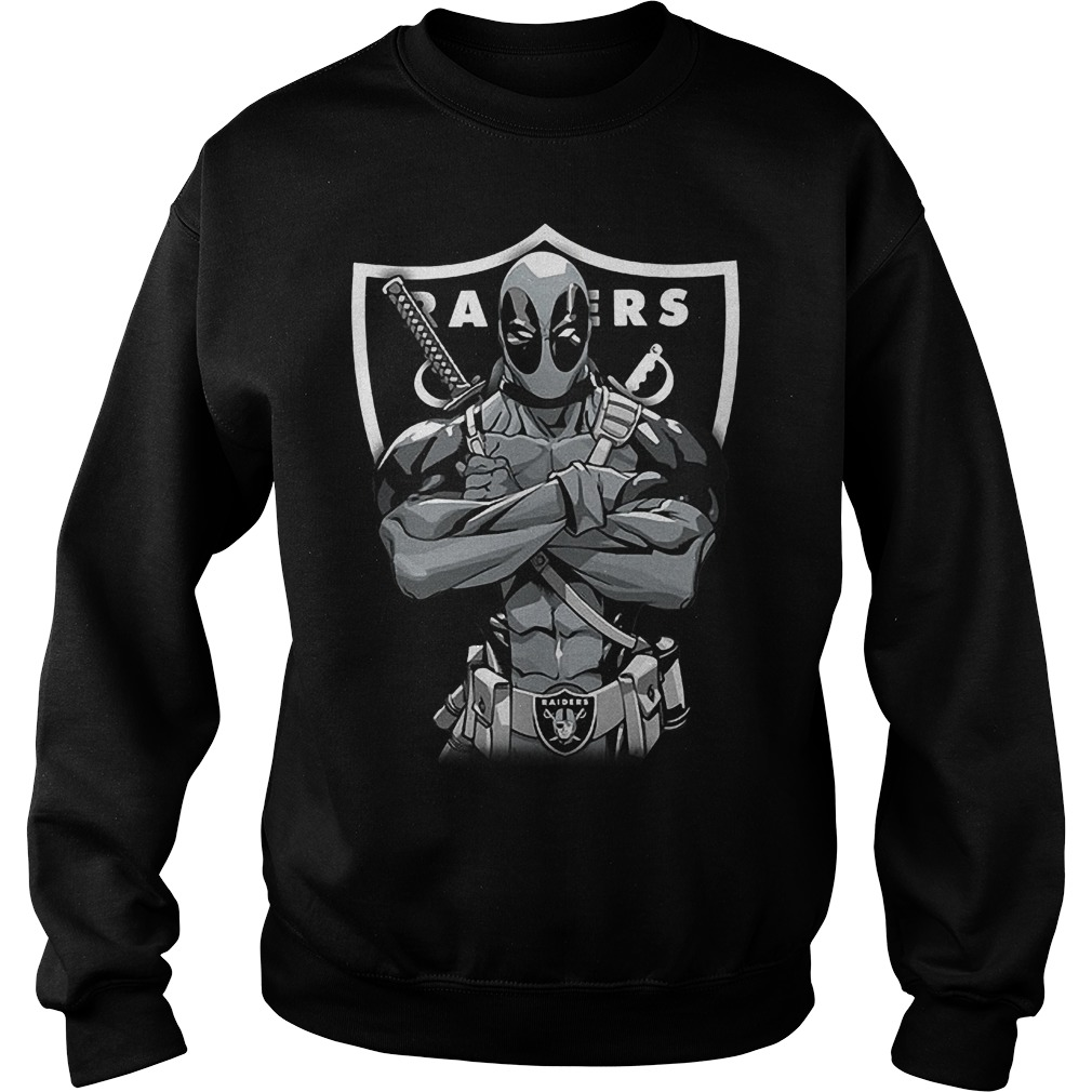Giants Deadpool: Oakland Raiders T-Shirt Sweat Shirt