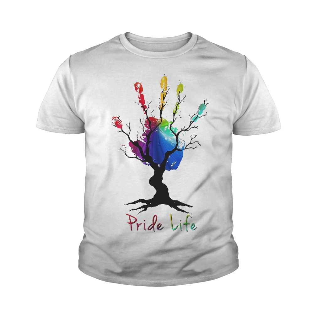 Hand Tree Pride Life T-Shirt Youth Tee