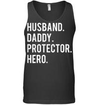 Husband Daddy Protector Hero Tanktop