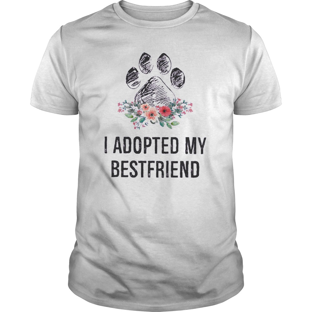 I Adopted My Bestfriend T-Shirt Classic Guys / Unisex Tee