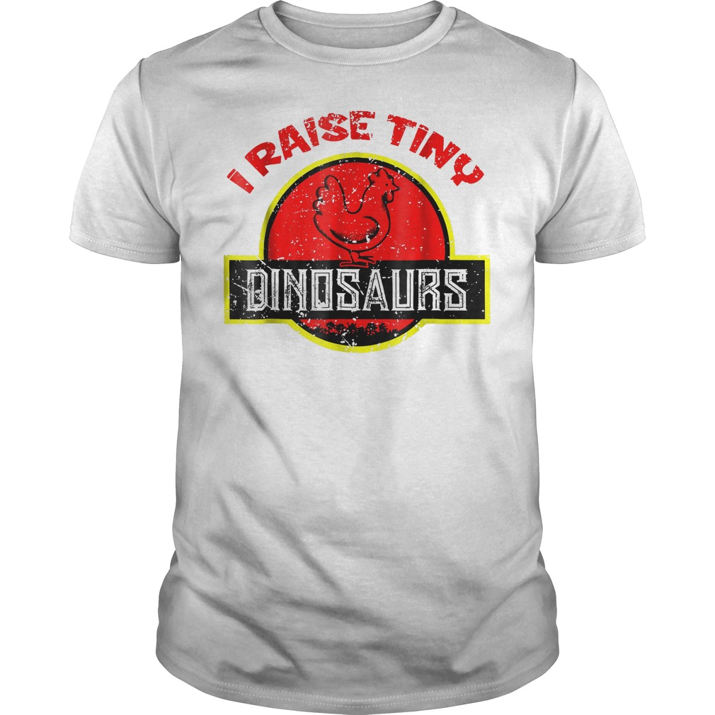 I Raise Tiny Dinosaurs T Shirt Classic Guys Unisex Tee.jpg