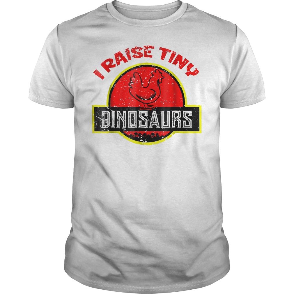 I Raise Tiny Dinosaurs T-Shirt Classic Guys / Unisex Tee