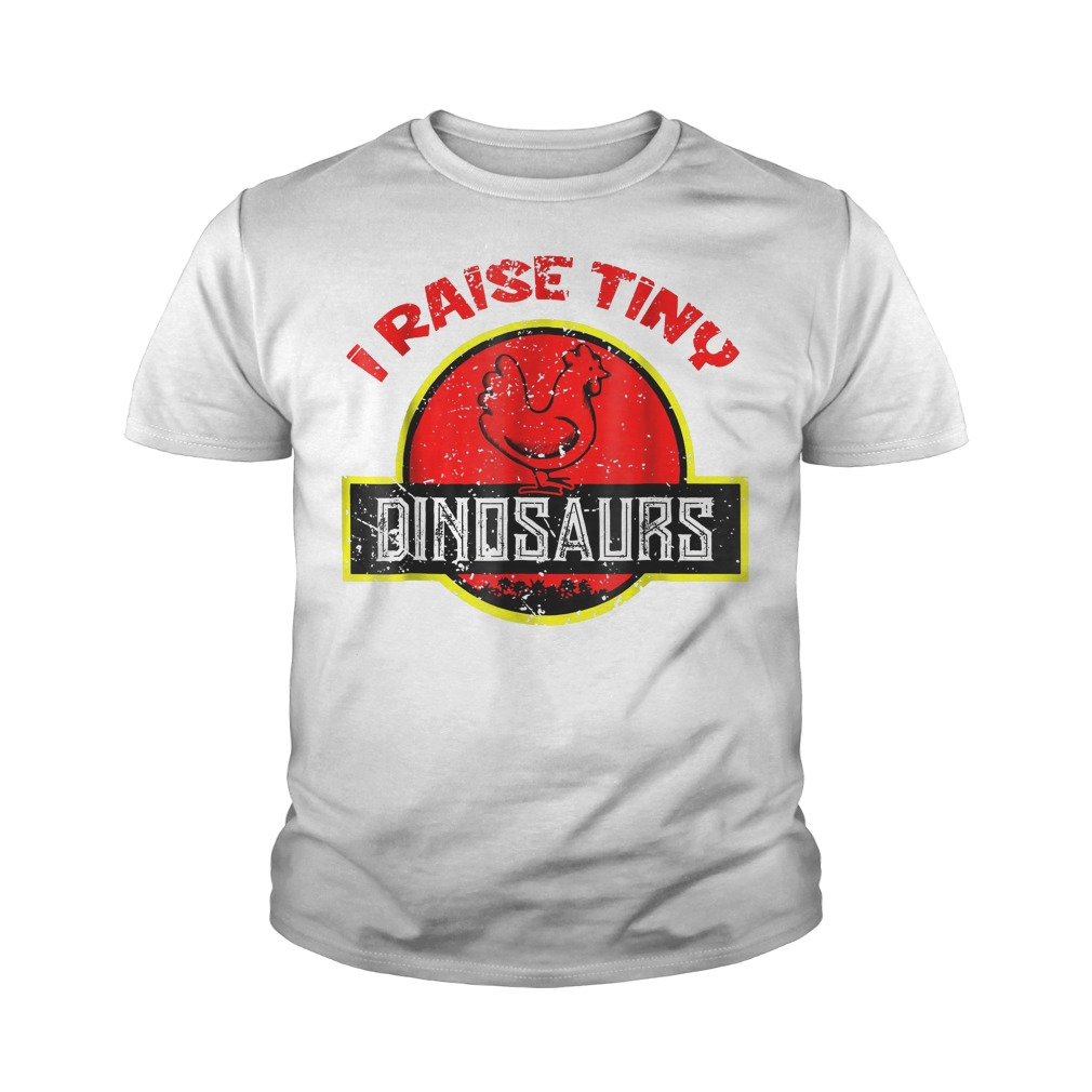 I Raise Tiny Dinosaurs T-Shirt Youth Tee