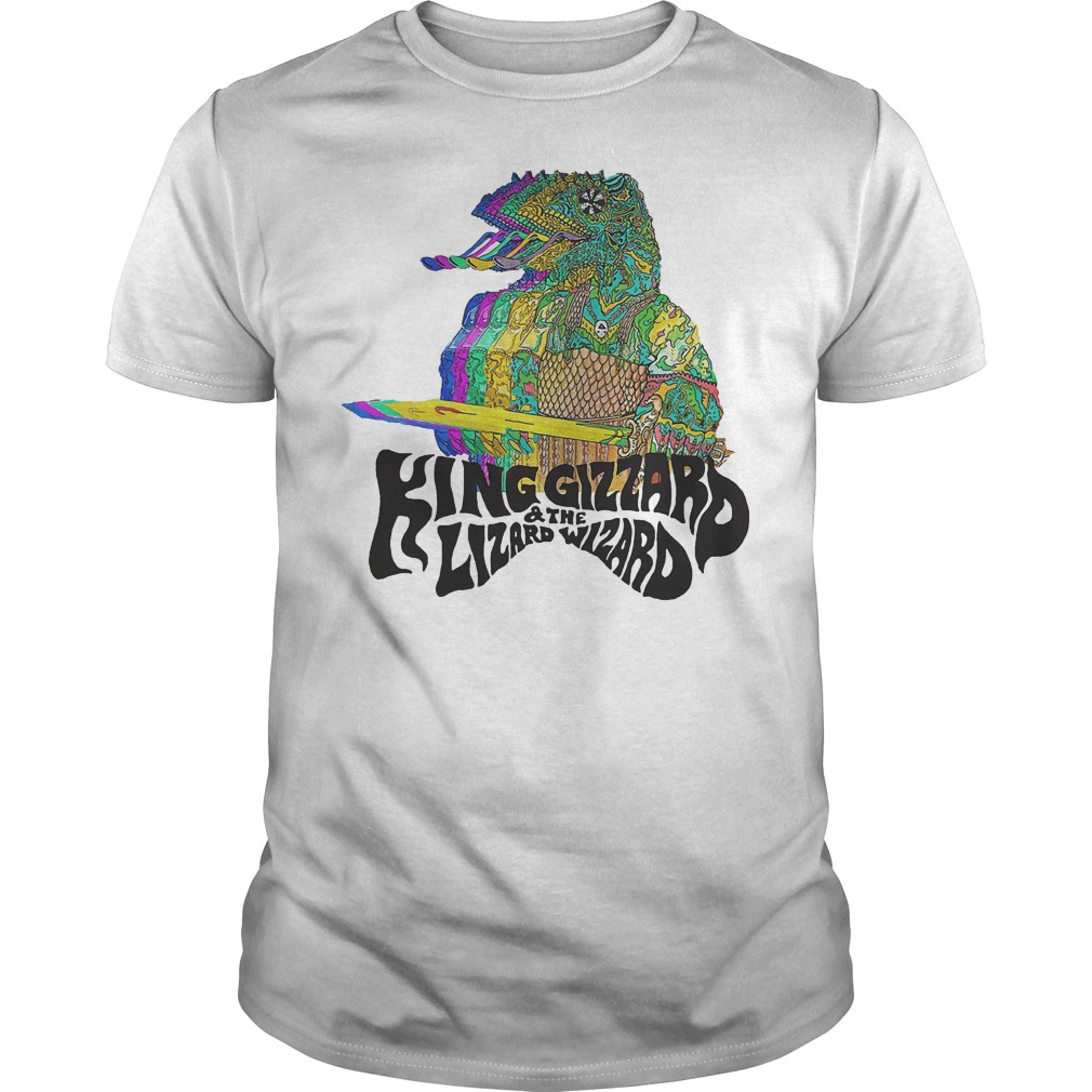King Gizzard And The Lizard Wizard T-Shirt Classic Guys / Unisex Tee