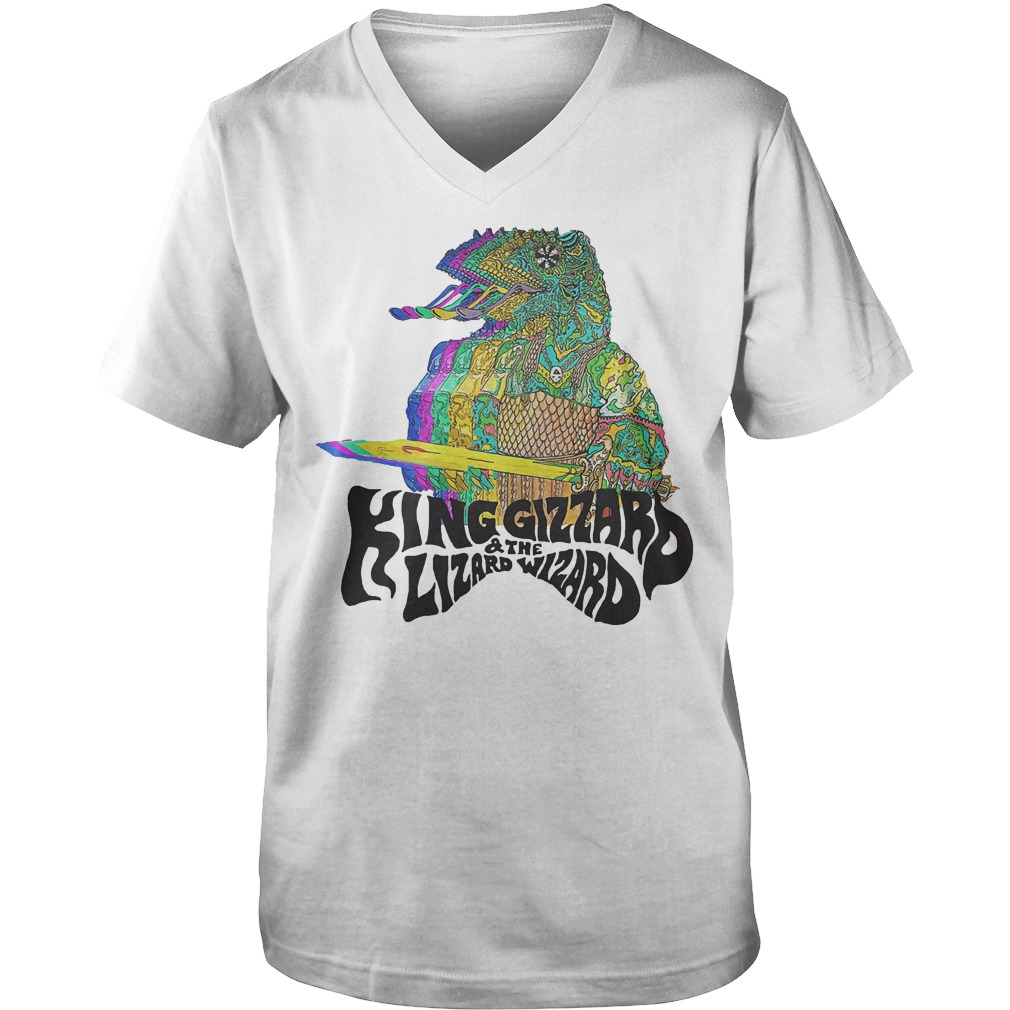 King Gizzard And The Lizard Wizard T-Shirt Guys V-Neck