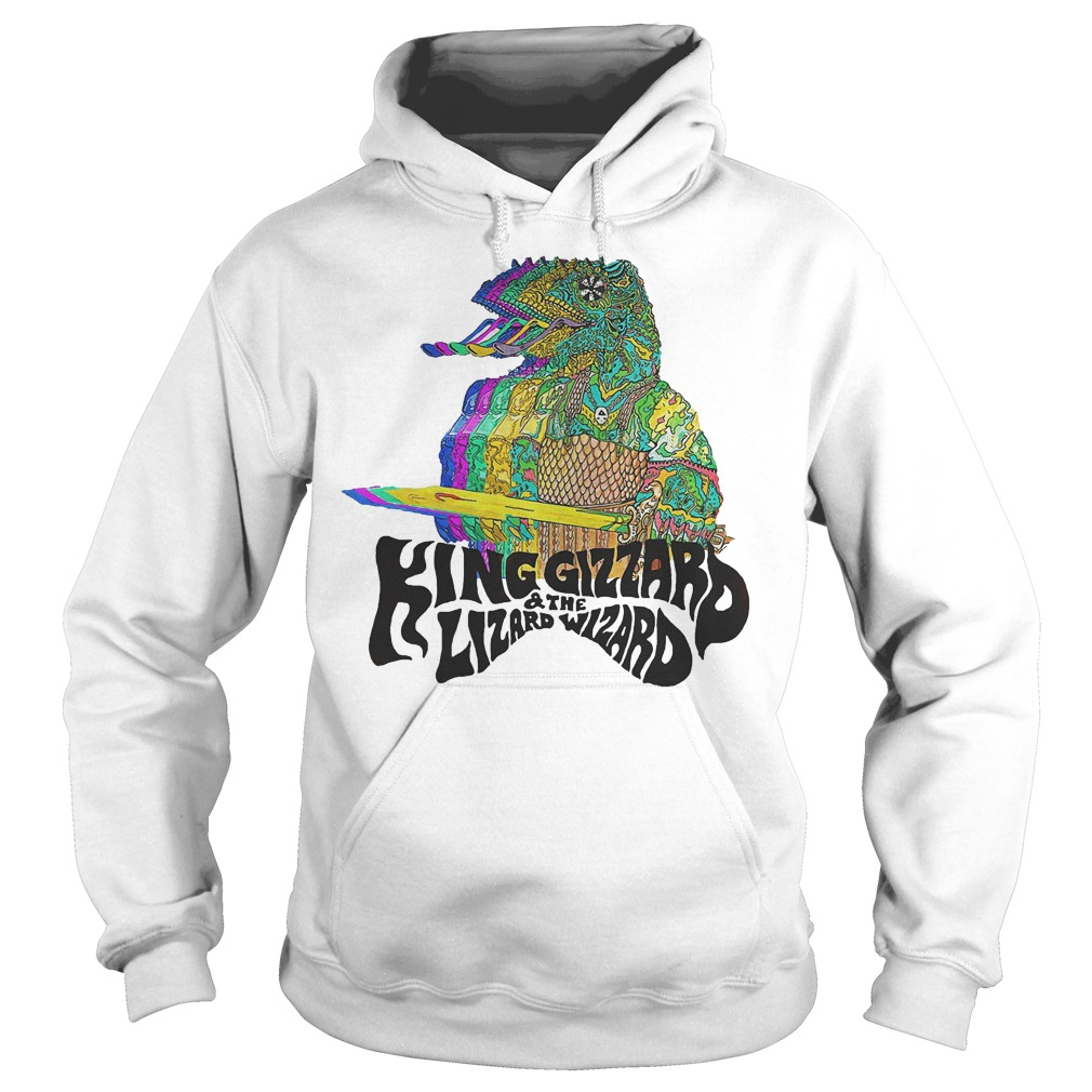 King Gizzard And The Lizard Wizard T-Shirt Hoodie
