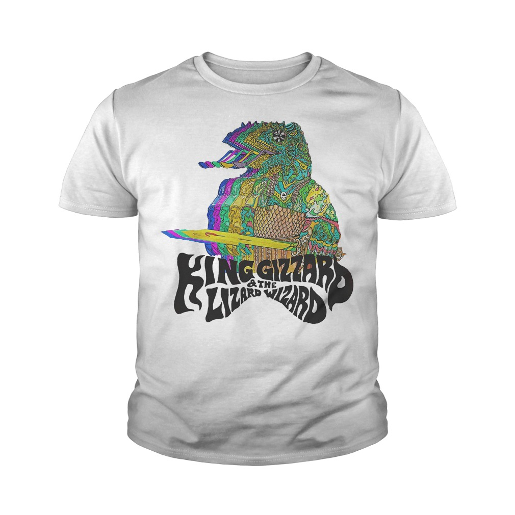 King Gizzard And The Lizard Wizard T-Shirt Youth Tee