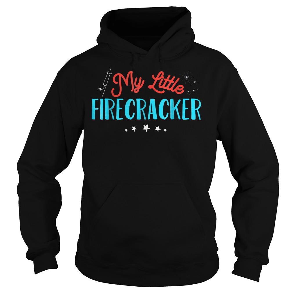 My Little Firecracker T-Shirt Hoodie